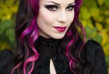Gothic Vampire Hairstyles