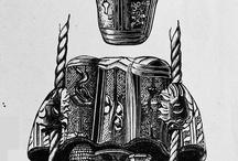 XVth Century Leather work