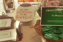 Gratitude Month / It is GRATITUDE Month at Sunny Bridge Natural Foods!! Have you seen our Gratitude Jar? Stop in and let us know what you are grateful for this season and enter to win our gift basket full of healthy products for free!