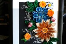 Quilling art by Marta Marin