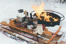 Winter / Talvisia tunnelmakuvia ja muuta talveen liittyvää.