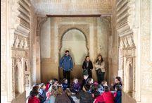 Programa Dibuja y Conoce (finalizado) / ¡Atentos profesores! Abierta inscripción para nuestras actividades didácticas Dibuja y Conoce  Más información ---> http://bit.ly/1Cg5mw8  / by Alhambra de Granada