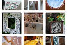 leftover tile ideas