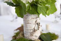 Hochzeitsfarbe Grün / Frisches Grün kann ganz prima mit vielen anderen Farben kombiniert werden oder sieht auch ganz alleine immer wieder schön aus.