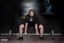 PRESIDIUM'S GIRL POWER ENTERS NATIONAL WEIGHT LIFTING CHAMPIOSHIP / Presidium School