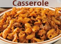 Casseroles and One pot meals