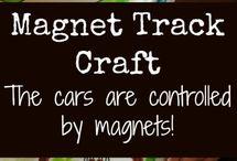 Kleuters ontdekdoos magneten