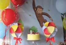 Curious George Birthday / by Jacquelyn Wagner