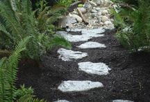 Garden Paths & Walkways / Walkways guide people throughout your yard and create a mood or atmosphere. Visit Scotty's Landscaping at: http://www.scottyslandscaping.com/garden-paths.html