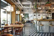 Déco nature / Ambiances pour un café restaurant Bio
