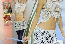 Crochet swimsuit cover up / Crochet ideas swimsuit cover up