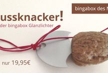 bingaboxen des Monats / Jeden Monat gibt es eine LIMITED EDITION einer bingabox