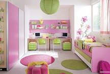 Pink and Green room