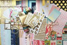 My Dream December 2014 Inspiration / Make your own December scrapbooking kit from your stash. www.ScrapStashKitClub.com