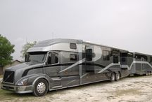 Semi trucks / RV's