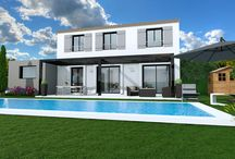 Exterior design, HD rendering / Photo-realism, multiple rendering verisons from the same project, terrace, decor, furniture...