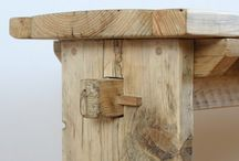 Benches and chairs / Handmade furniture