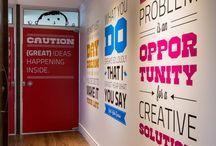 Advertising agency interior design
