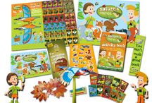 "Children's Activity Party Packs / ""We produce innovative products for children designed to engage, entertain and educate, which guarantees they remain happy at your venue for longer"""