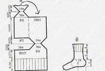 вязание носки и варежки