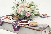 Winter Wedding Inspiration / Winter weddings are beautiful and cozy with specialty rentals from Dovetail Vintage Rentals