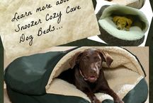 Snoozer Cozy Cave Dog Beds / Snoozer cozy cave dog beds are cool bed options for your dog that loves to burrow in at night.