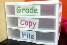 Organizing the classroom!