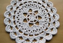 Crocheted Doilies and Mandalas