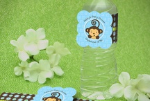 Baby Shower ~ Boy  / Shower for baby boy with color theme of blue, brown & green