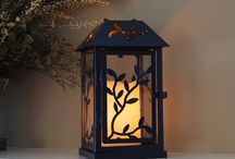 LumaLanterns - Metal Lanterns / A collection of Metal Lanterns with and without LED Candles are not only beautifully crafted, they're a great price. The flickering amber glow has a natural look and creates an absolutely stunning atmosphere.