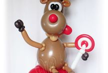Balloons, figures / Balloons, decor, twisting, balloon modeling, decor&gifts ideas, balloon art
