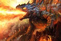 fantasy and dragons