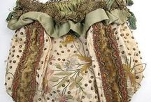 historical bag,reticule