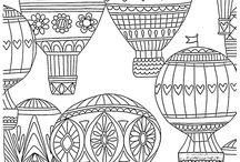 Idées d'illustrations bujo - Montgolfière