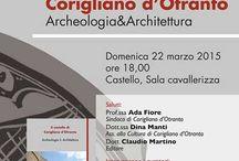 Eventi a Corigliano d'Otranto / Eventi in Puglia nella città di Corigliano d'Otranto (Le)