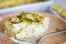 Auflauf mit Feta und Zucchini