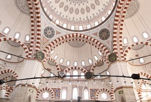 Mosques / Interior and exterior mosques designs and architecture  / by Natalie @Turkish Travel Blog