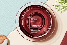 Marsala : : 2015 Color / Pantone 18-1438
