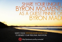 Byron Made Guest Pinner / Join the creative collective and become a GUEST PINNER on Byron Made, sharing and celebrating Byron Bay and the Northern River region though images, ideas, inspirations and creations that are unique to this amazing part of the world. To request an personal invite to guest pin email byronmade@gmail.com