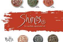 AMACO- Midrange Shino Glazes / These earthy glazes create toasty, varied surfaces that imitate high fire shino behaviors.