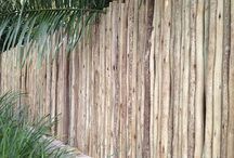 Tea Tree/ Latte Pole Fencing and Screening