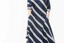 АГ_004Платье ассиметричное с карманами т.синее