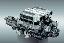 W16 Bugatti engine
