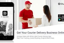 White Label Courier Delivery App