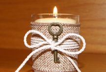 Votive Candles for Weddings / Fun and elegant ways to use votive candles in your wedding.