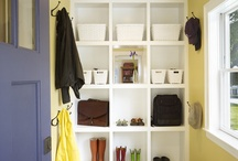 Putting Your Mudroom/Entry Foyer IN ORDER