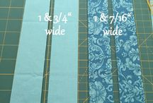 Binding a quilt with a flange