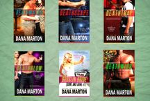 Dana Marton Books / Pimp board for Dana Marton
