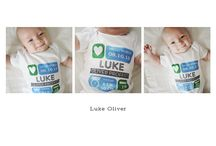 Personalized Baby Onesies / by Petite Lemon