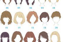 hair / face